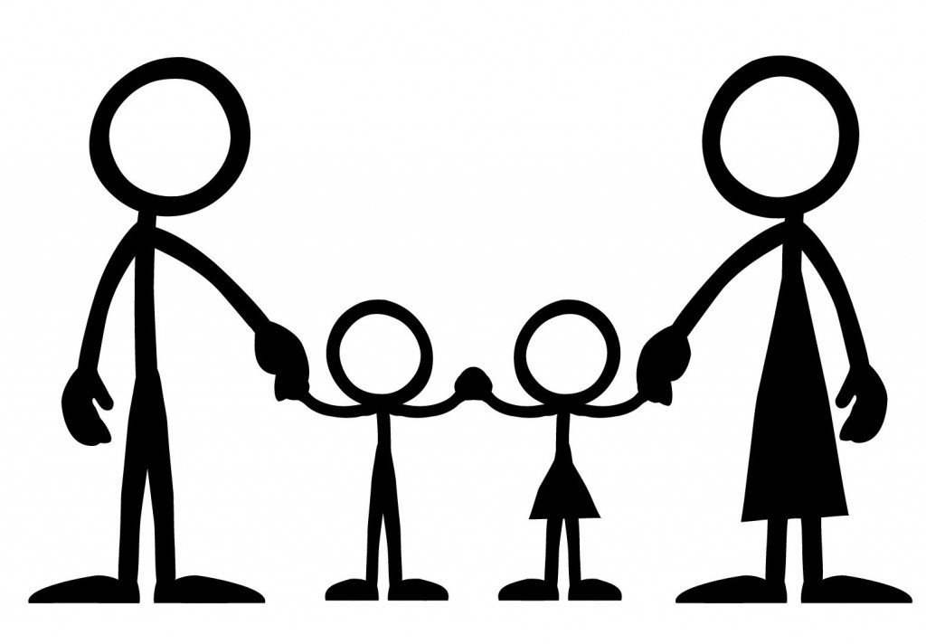 1024x712 Family Silhouette Clipart