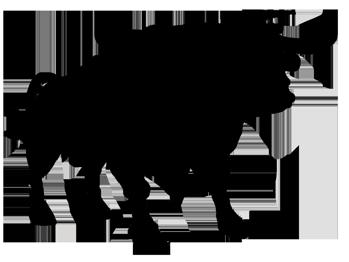 1476x1107 Animal Silhouette, Silhouette Clip Art