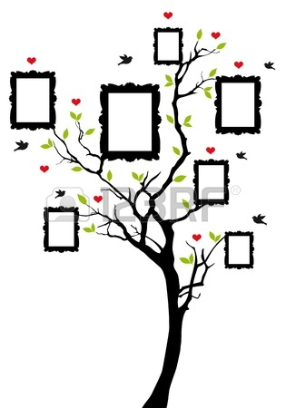 315x450 Family Tree Isolated On A White Background Royalty Free Cliparts
