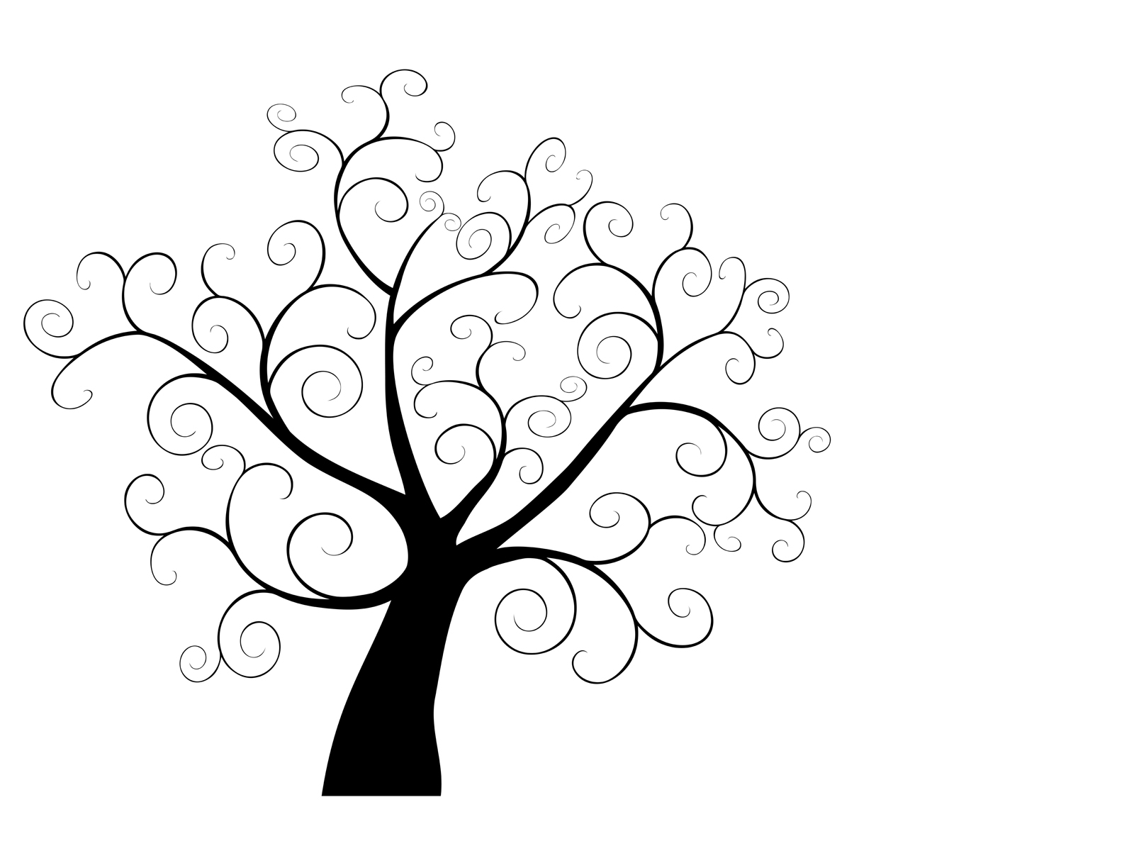1600x1200 Tree Mural . Doing This As We Speak) For The Home