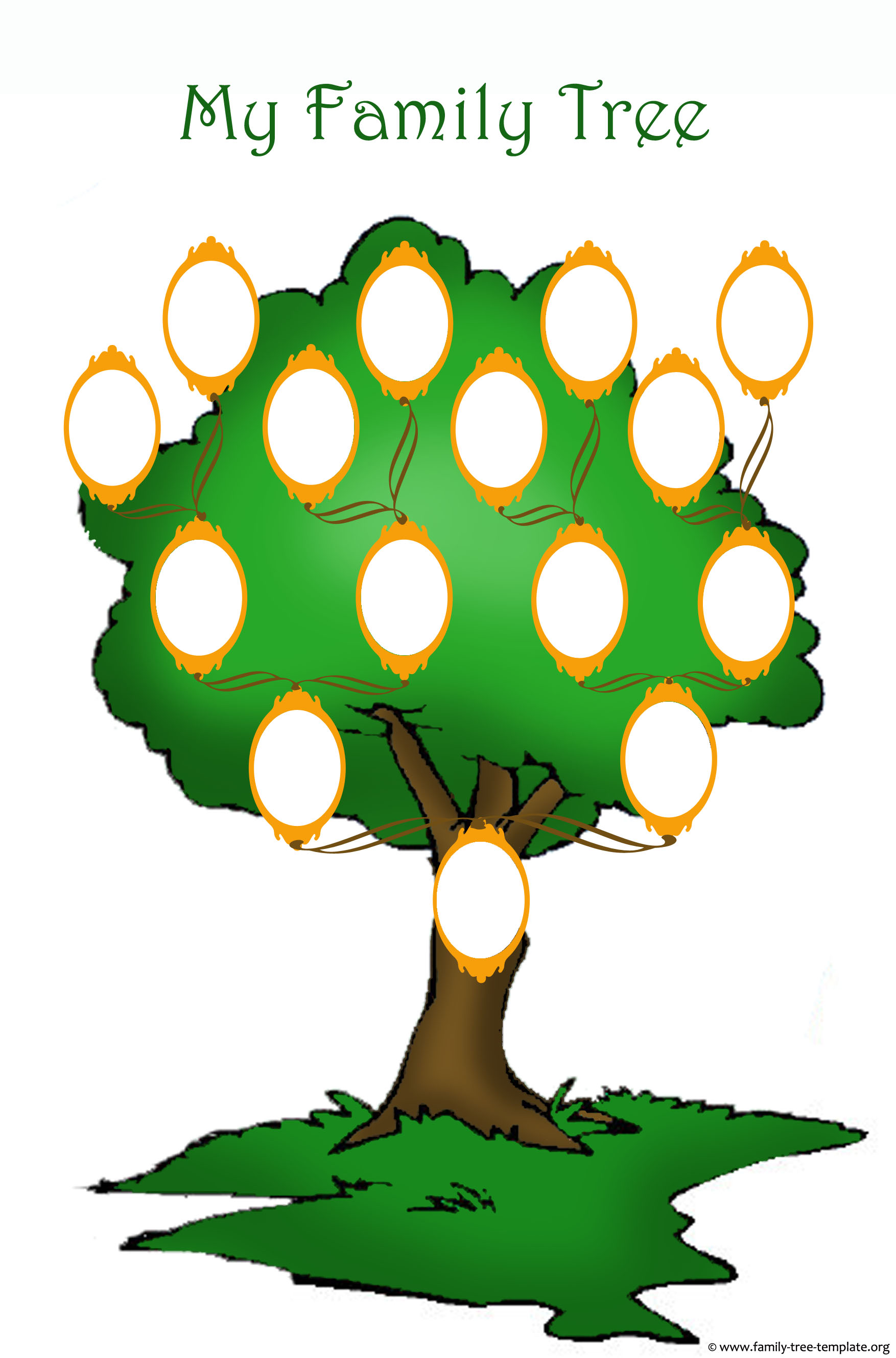 1754x2657 Free Printable Clipart Of Family Tree