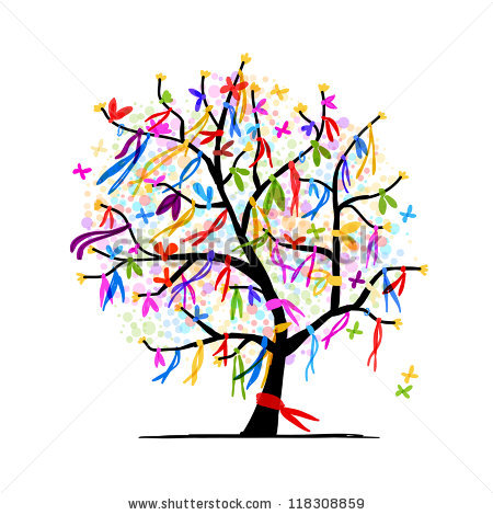 450x470 Abstract Clipart Family Tree