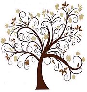 180x191 Family Reunion Tree Clip Art