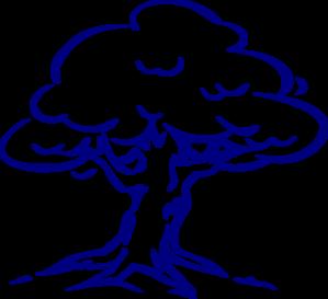 299x273 Family Tree Blue Clip Art