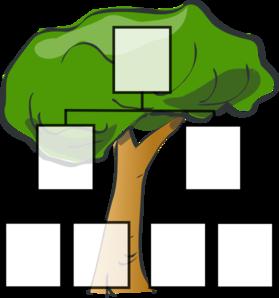 279x298 Family Tree Clip Art