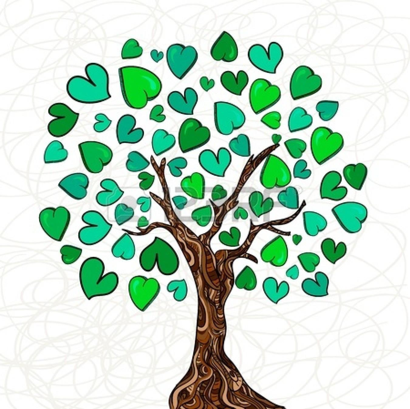 1350x1347 Love Clipart Family Tree