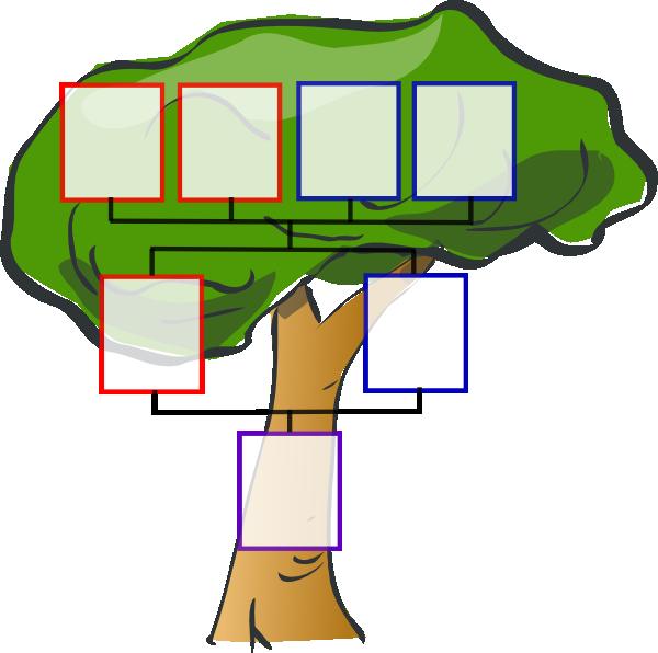 600x596 Totetude Family Tree One Kid Clip Art