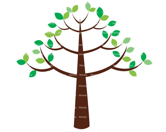 570x453 Clipart Free Trees