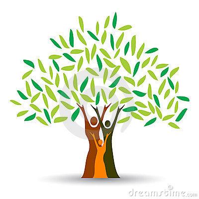 400x400 Family Tree Clipart