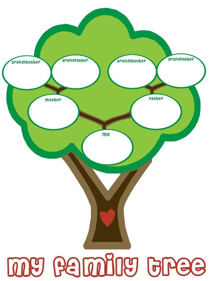736x981 Family Tree For Kids