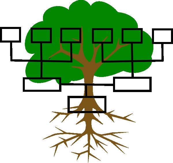 600x563 Family Tree Clip Art