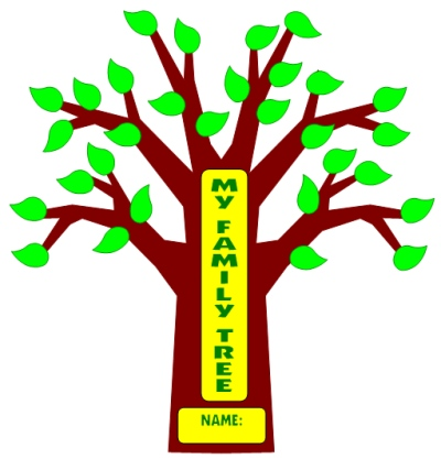 400x417 Family Tree Lesson Plans Large Tree Templates For Designing