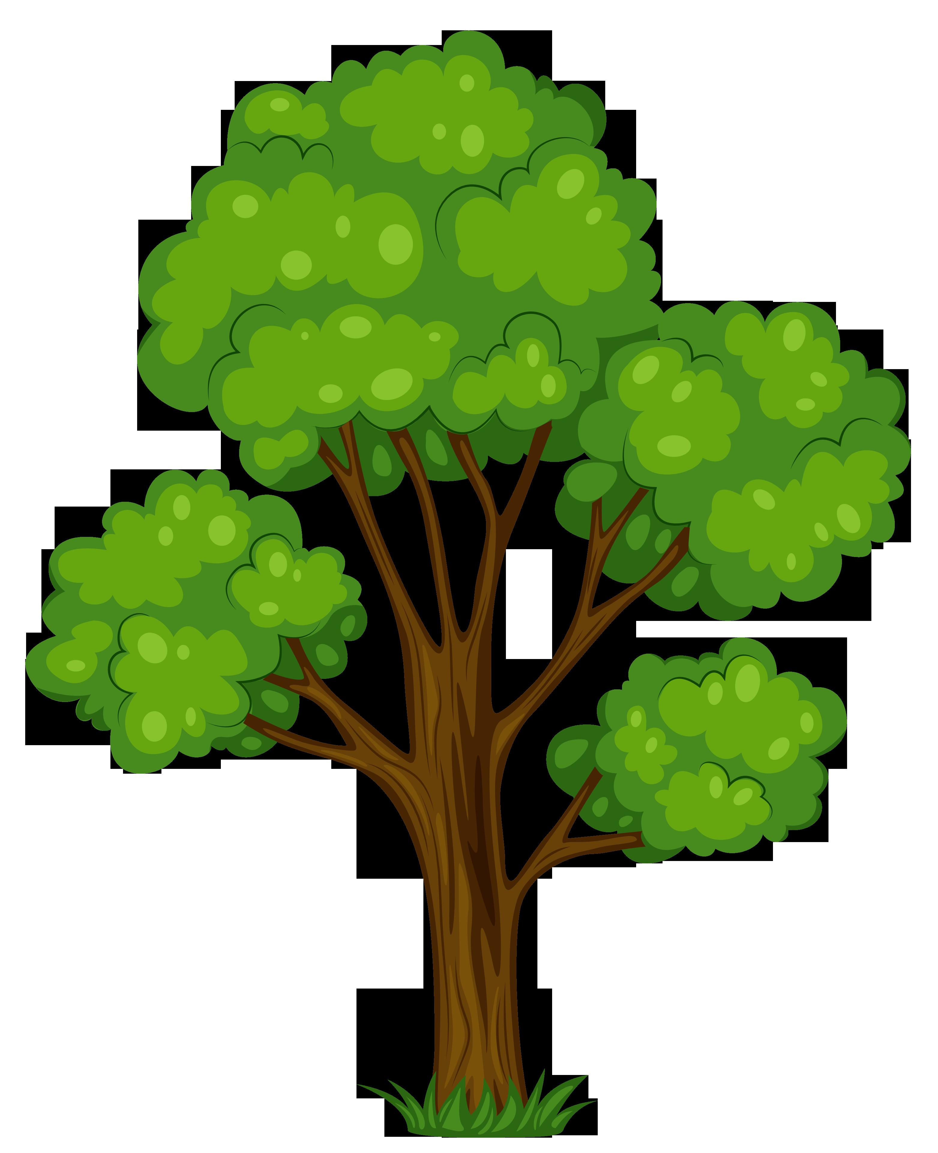 3126x3842 Free Clipart Tree
