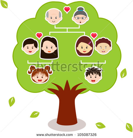 450x468 Pictures Of Family Trees Family Tree Stock Images Royalty Free