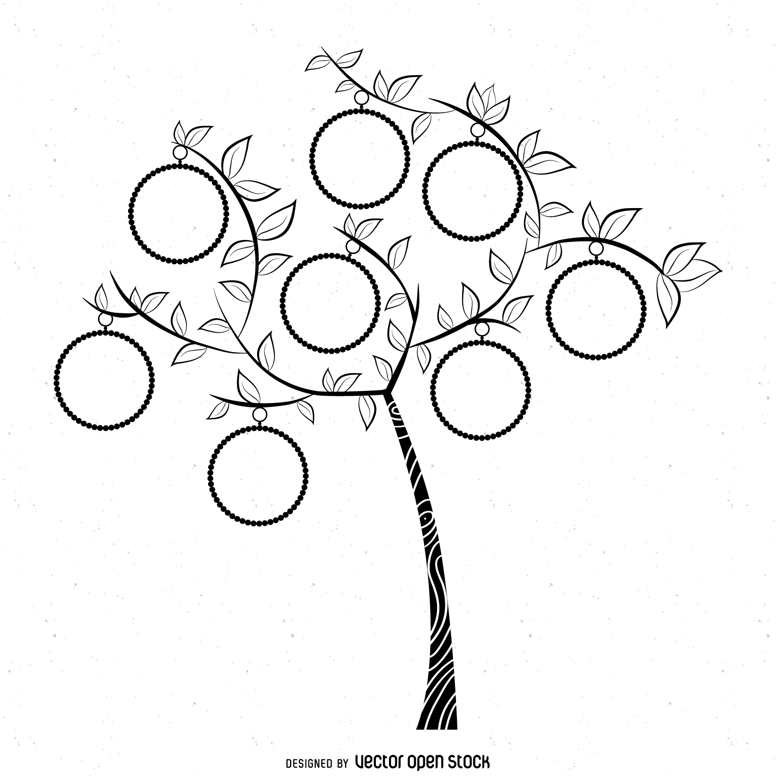 1600x1600 Simple Family Tree Drawing Family Tree Templates Genealogy Clipart