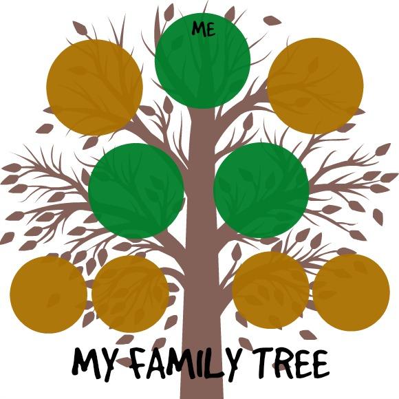 580x580 Family Tree For Kids