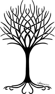 236x402 Simple Tree Stencils