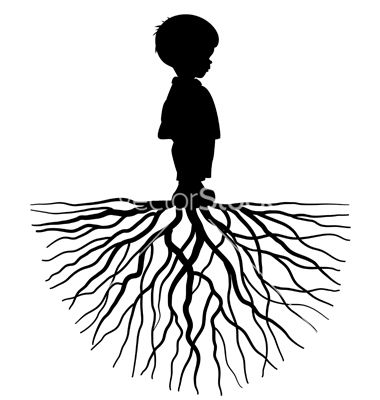 380x400 15 Family With Roots Vector Images