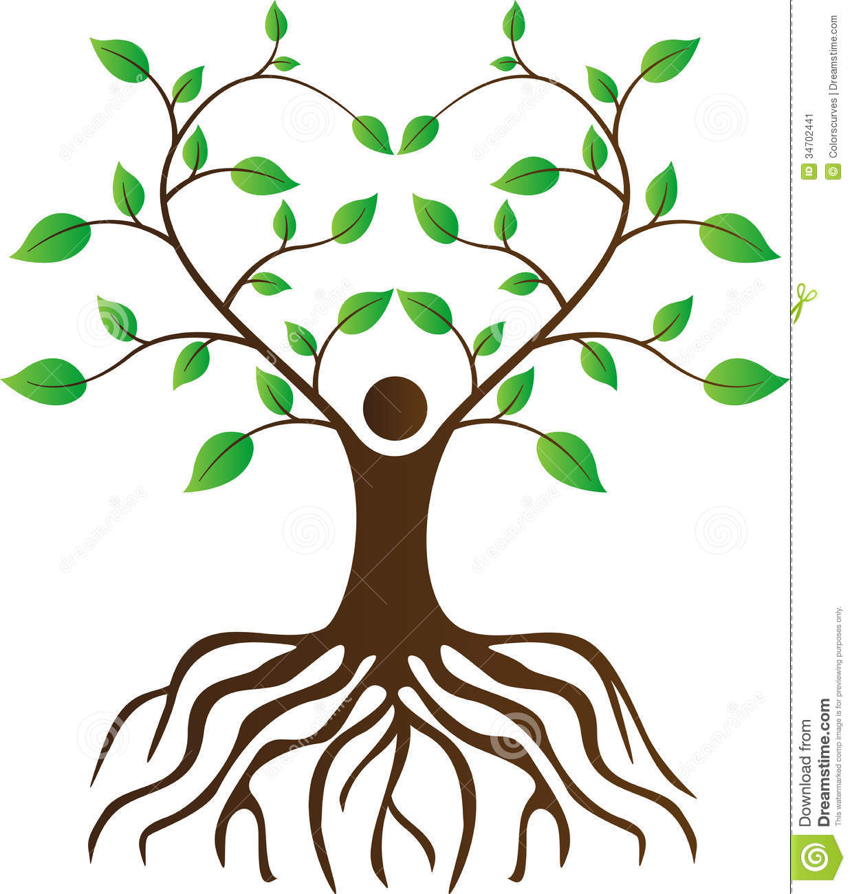 1239x1300 Tree With Roots Clipart