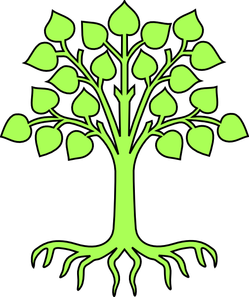 504x600 Coat Of Arms Tree Without Shield Clip Art