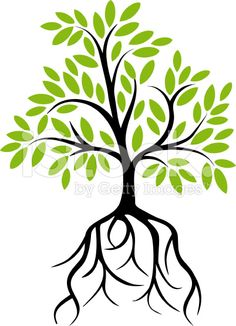 Family Tree With Roots Clipart | Free download on ClipArtMag