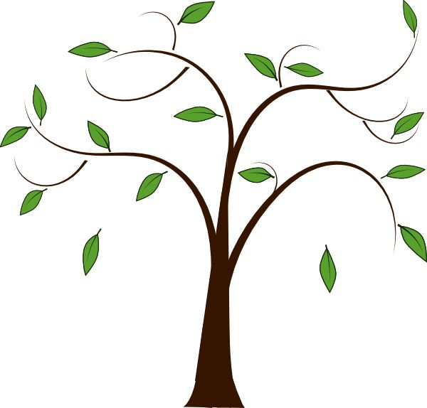 600x574 Best Bare Tree Clip Art