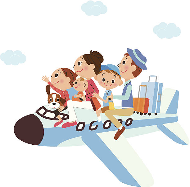 612x601 Airplane Clipart Family