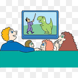 260x260 Family Members Watch Tv Together, Watch Tv, Family Watching Tv