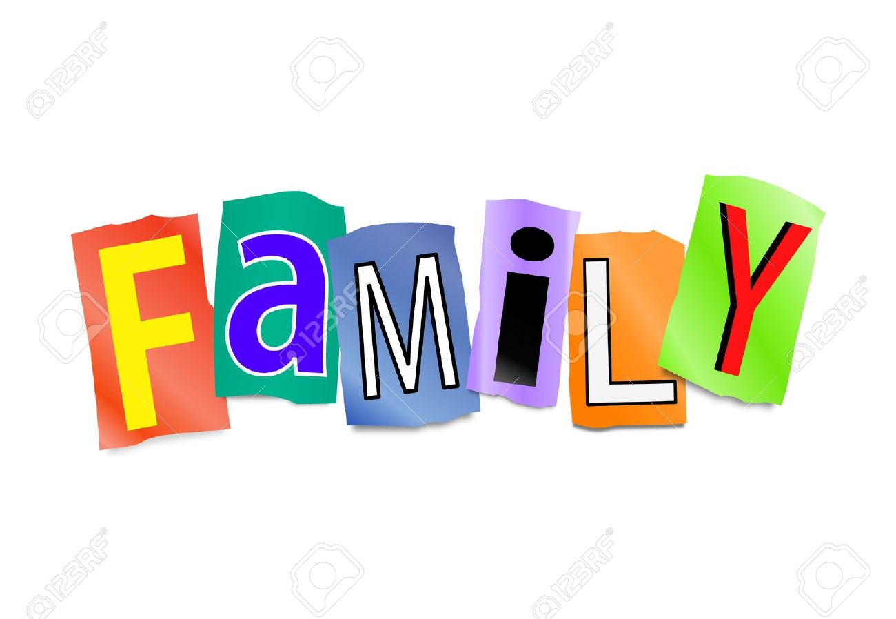 1300x898 Best Family Word Clipart 28459 Clipartion Com, Best Family Word