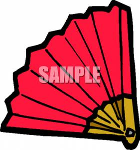 281x300 Fan Clipart Red Hand