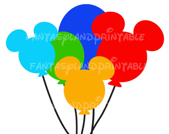 340x270 Mickey Mouse Balloons Clip Art Cliparts