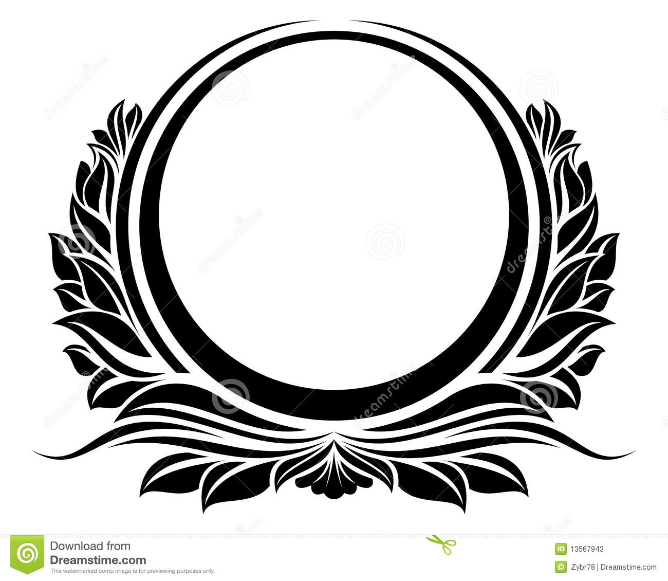 Circle fancy. Banner clipart free download