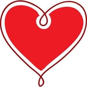 300x300 Clip Art Black Heart Free Clipart Images