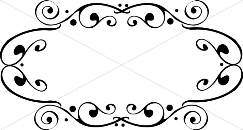 776x417 Fancy Oval Frame Religious Borders