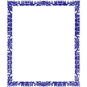 300x300 Clip Art Blue Borders Clipart Panda
