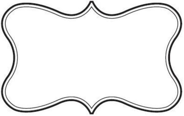 600x378 Fancy Border Clip Art