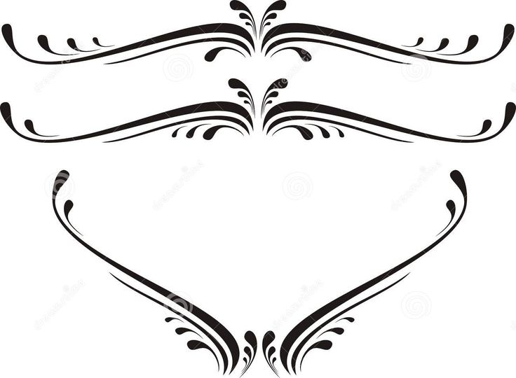 736x540 Clip Art Scrolls Clipart