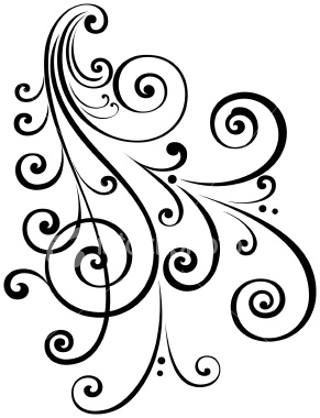 291x380 Things To Put On Your Wall In Your Room, Free Fancy Scroll Designs
