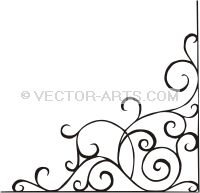 200x193 Vector Clip Art Corners