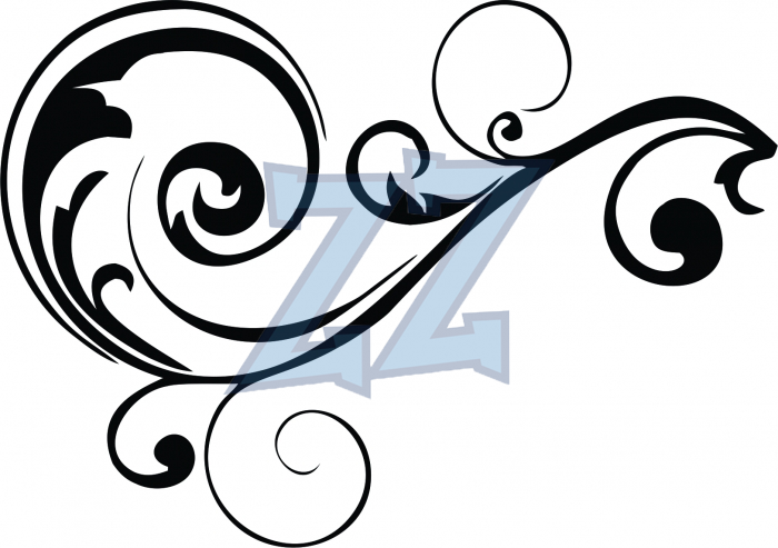 700x493 Clipart Scroll Work