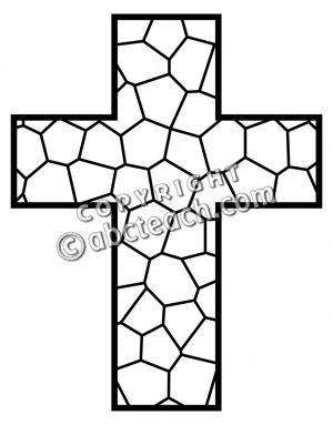 300x383 Cross Clipart Black And White Clipart Panda