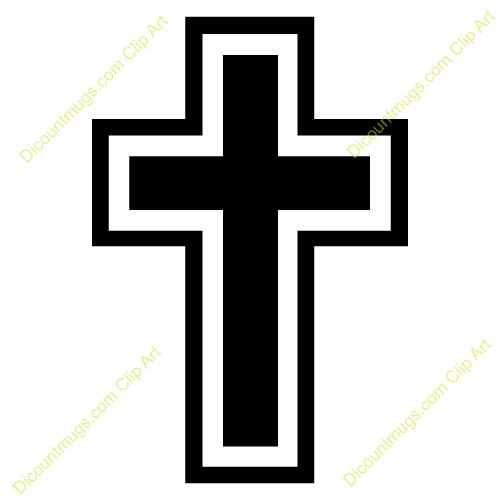 500x500 Catholic Cross Clipart