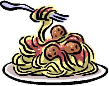 350x276 Clip Art Of Dinner Meals Clipart 2