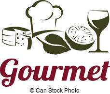228x194 Gourmet Food Clipart