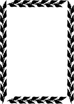 236x334 Vector Borders Clipart