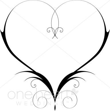 384x388 Clip Art Heart Heart Clipart