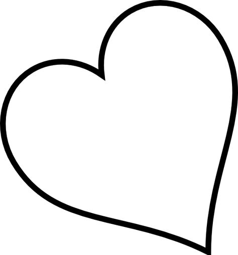 474x508 Heart Outline Clip Art Small Red Heart Black And White Only Clip