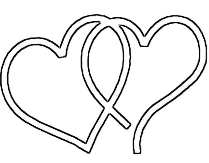 699x544 Hearts Clipart Fancy