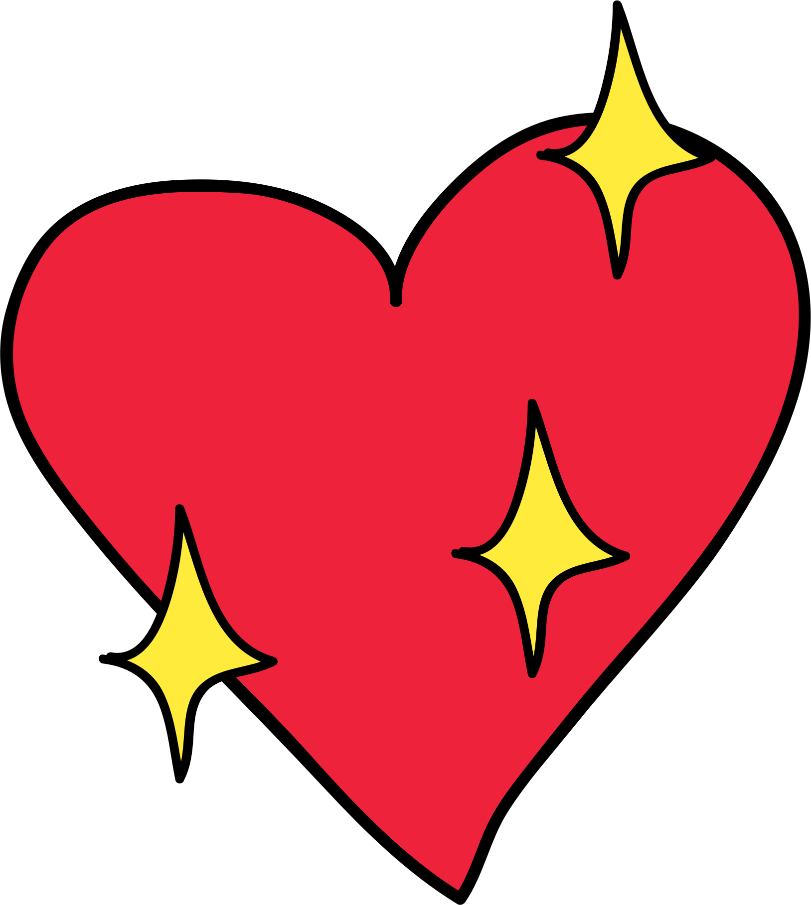 1627x1817 Hearts Clipart Together