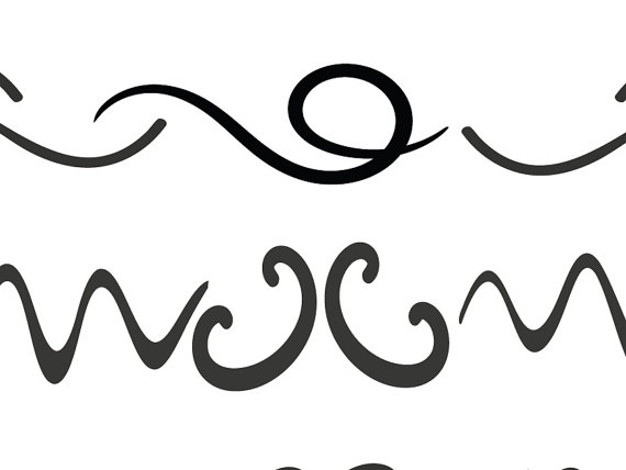 570x428 Svg Divider Lines Fancy Swirls And Ornamental Borders Hand